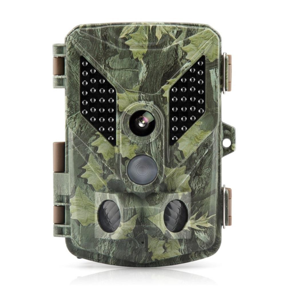Portable Trail Camera 12MP 1080P HD Game & IP67 Waterproof Hunting Camera Wide Angle Lens 940nm IR LED NightShot Function Camera