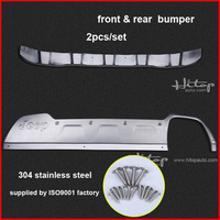 New Arrival For Jeep Renegade 2015 2016 Stainless Steel Skid Plate Bumper Protector Bull Bar 2pcs