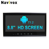 Navivox 8 8 2 DinAndroid 7 1 2Eight Core Car GPS Navigation Stereo Audio Player For