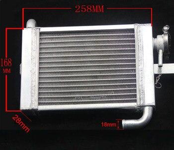 Motor gy6 100cc jog100, radiador de aluminio para motocicleta de 110cc y 125cc, accesorios para bicicleta dirt pit monkey