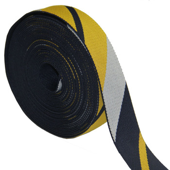 high quality polyester webbing strap for bag strap jacquard polyester tape 38mm wide 1.6mm thickness for bag strap new arrival