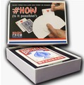 Free shipping ITgimmick #How by Magic from Holland and Ferry de Riemer - Trick - close up steet card mentalism magic trick
