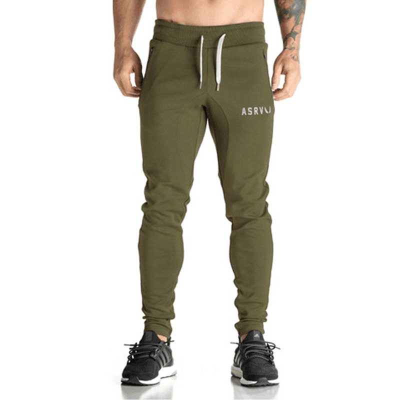 2017 High Quality Jogger Pants Men Fitness Bodybuilding Gyms Pants For Runners Brand Clothing Autumn Sweat Trousers Britches