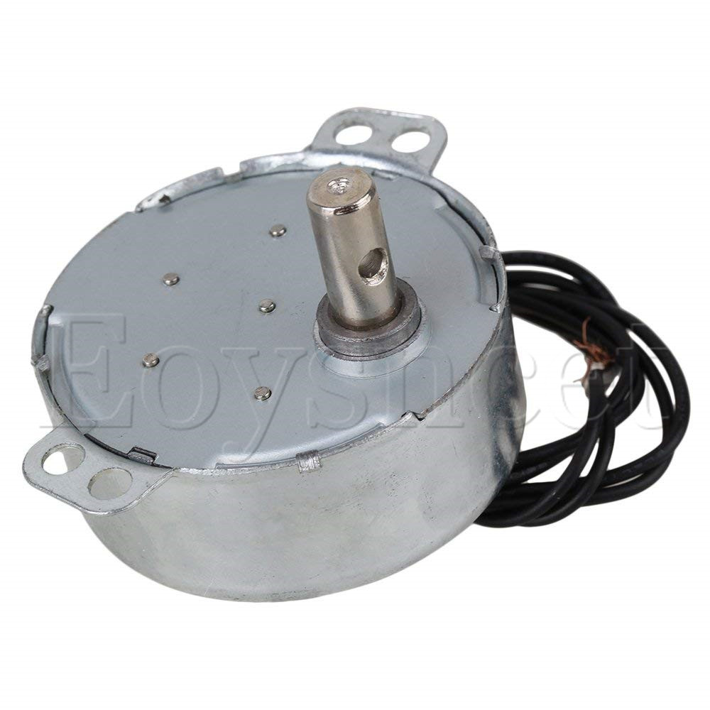 Turntable Synchronous Synchron Motor 50//60Hz AC 220V 4W 15-18RPM CCW//CW TYC-50