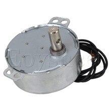 TYC-50 синхронный двигатель переменного тока 220V 2,5-3, оборот в минуту(r/min 50/60Hz CW по и против часовой стрелки 4W 10 мм Длина вал