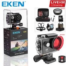ต้นฉบับEKEN H9 H9R Ultra HD 4K 30fps Actionกล้อง 30Mกันน้ำ 2 นิ้วหน้าจอLCD Wi FiรีโมทGo Extreme Proกล้องกีฬา