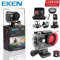 Original EKEN H9 H9R Ultra HD 4K 25fps Action Camera 30m waterproof 2 inch LCD Screen Wi Fi Remote Gopro Style Sports Camera