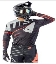 New popular summer downhill jersey sports motorcycle mountain bike MX casual short-sleeved long motocross