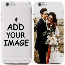 Custom Personalized Make Your images Photo Pattern New 2019 Soft Clear Phone Case Cover For iPhone 7 6 6S 8Plus 5S X XS XR XSMax