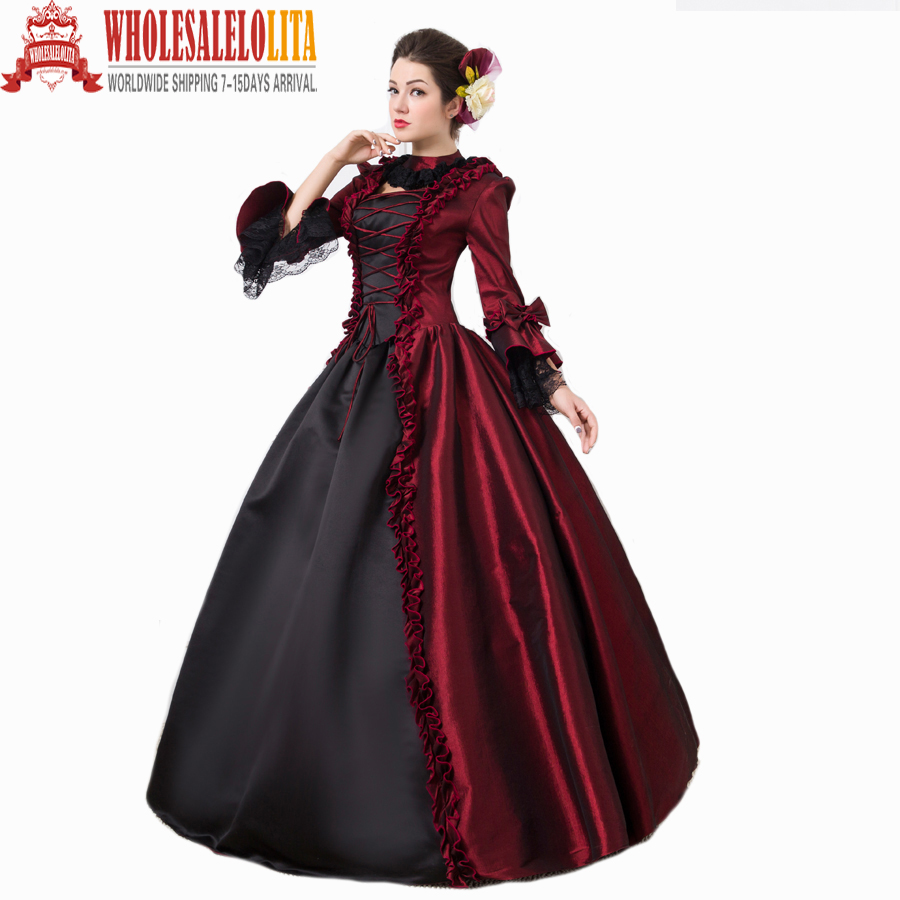 Aliexpress.com : Buy Top Sale Gothic Burgundy and Black Penny ...