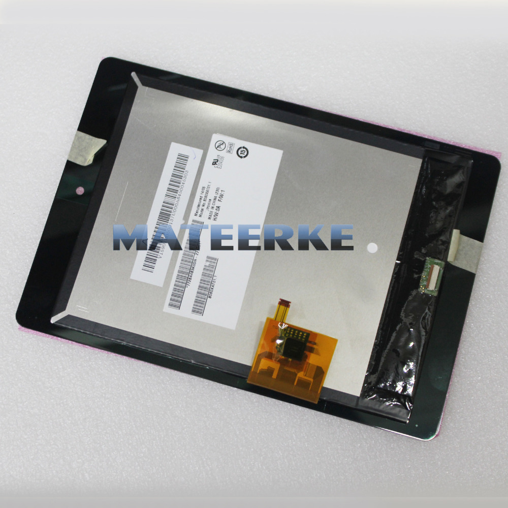 ФОТО free shipping LCD display touch screen assembly with digitizer For Acer Iconia Tab A1 A1-810 black
