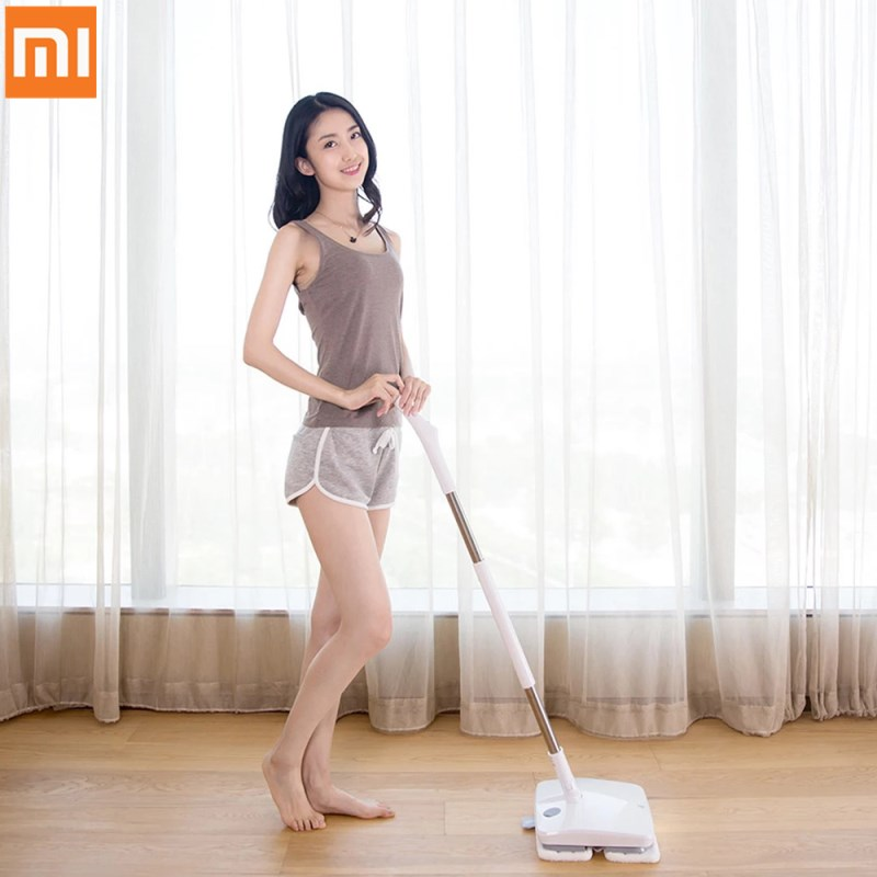 Xiaomi Cleaner SWDK-D260 Arruelas de Limpador de Chão Molhado Esfregar Elétrica Sem Fio Portátil Com Diodo Emissor de Luz na Noite Escura