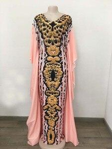 Image 4 - Afrykańska sukienka es dla kobiet 2019 odzież z afryki długa suknia islamska długość moda afrykańska sukienka dla pani