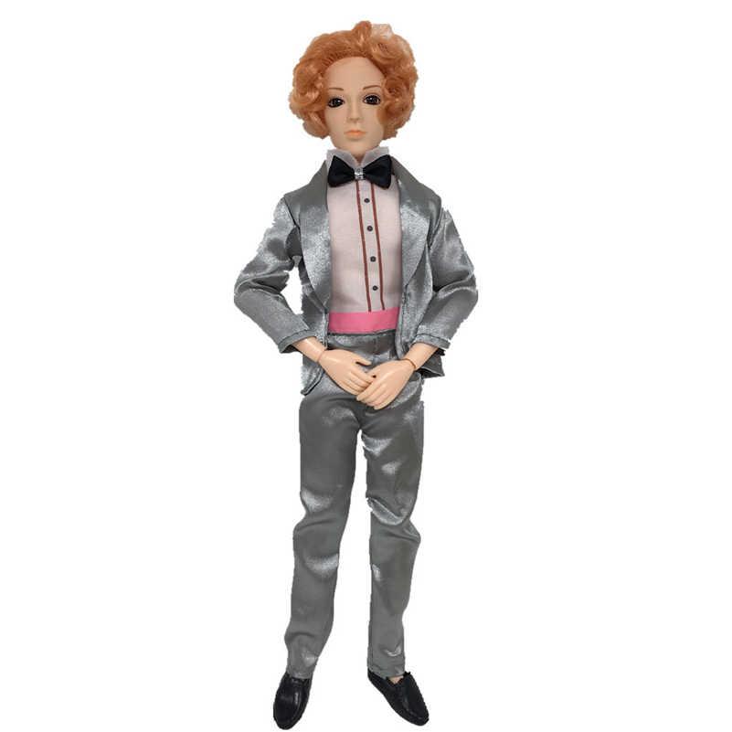 30 cm 14 Moveable Articulados Bonecos Ken Namorado Com Roupas Príncipe Masculino Homem nu Ken Corpo Corpo Da Boneca Boneca de Brinquedo DIY Brinquedos Para Meninas
