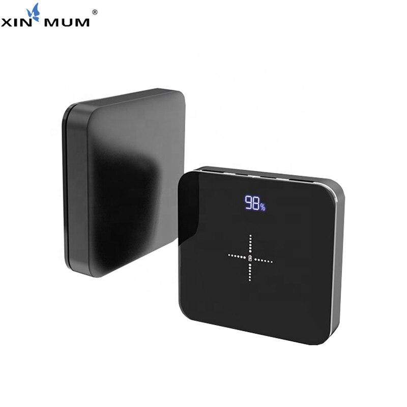XIN-MUM QI batterie externe sans fil 20000 mah double sortie USB pour iPhone Samsung Huawei Xiaomi LG poche batterie Portable