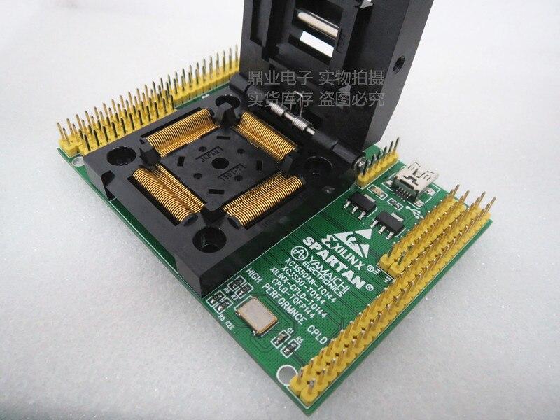 Clapet 100% nouveau et Original XC6SLX9-QFP144 IC brûlant adaptateur de siège Test de siège banc d'essai de prise en stock livraison gratuite