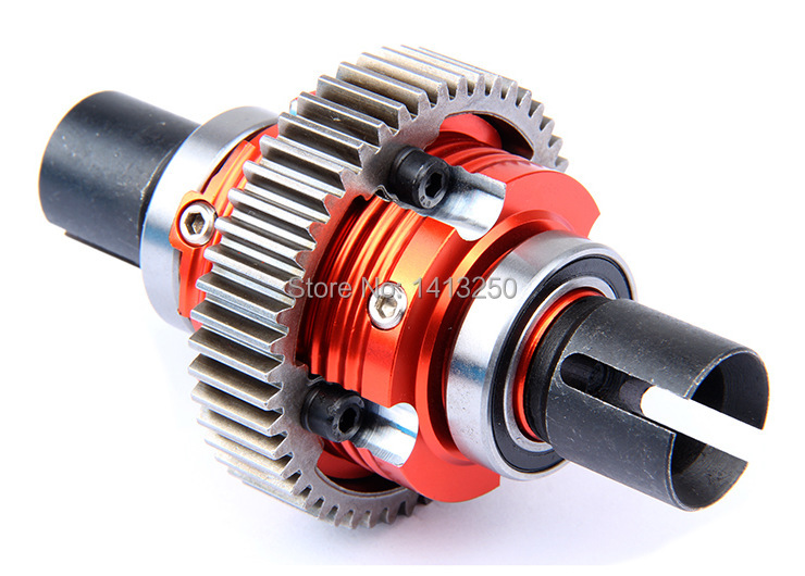 CNC metal complete diff gear set for 1/5 hpi km rovan baja 5b 5t 5sc realts fs racing 136044 diff gear set for 1 5