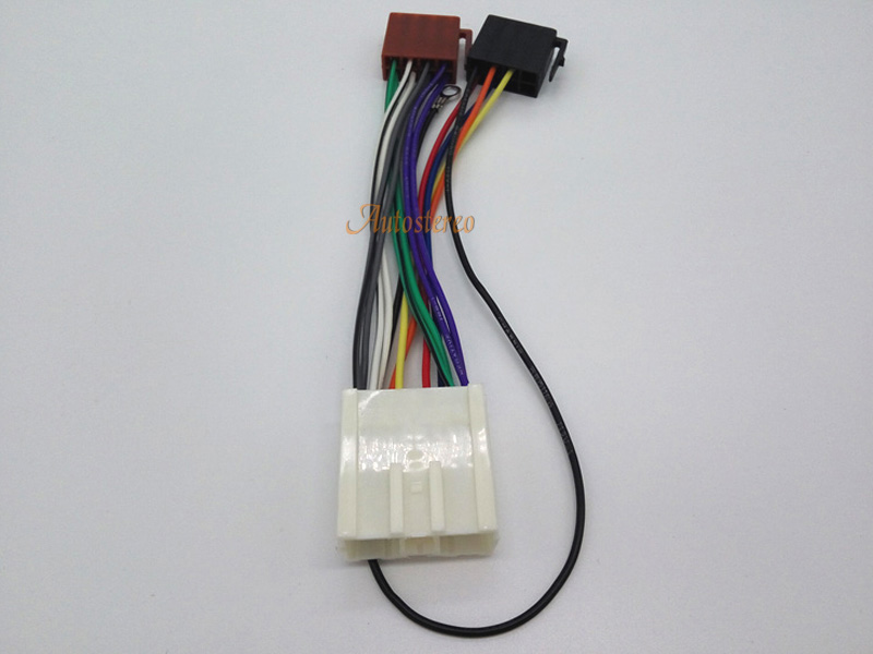 Iso Standard Wiring Harness Radio Fascia Cable For