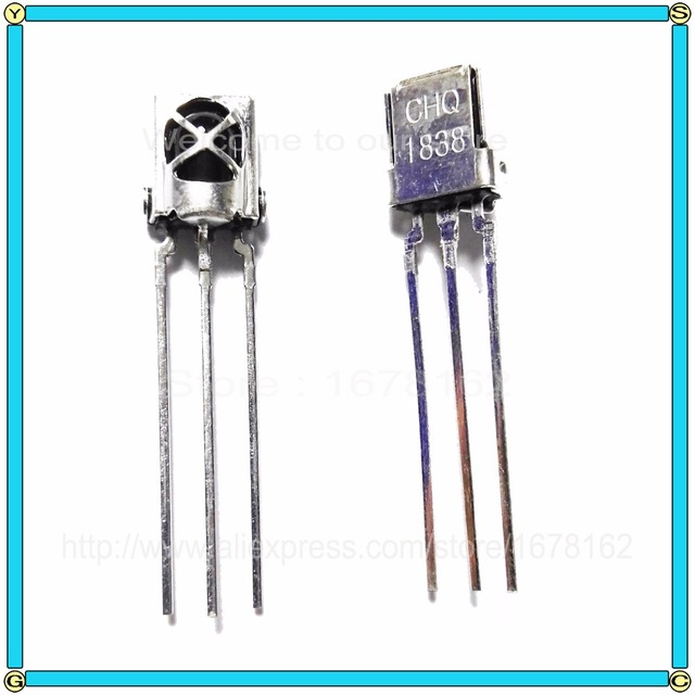 US $0 5 71% OFF|10pcs/Lot Universal IR Infrared Receiver Sensor Module 1838  TL1838 VS1838B 38Khz Diode With shield receiving tube-in Diodes from