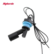 New Plastic PP 110/220V MK-PCFS4 Liquid Water Level Sensor Right Angle Float Switch Mini Float Switch Contains no Mercury [[sa]used midori cpp 35 500 europe biaxial conductive plastic potentiometer angle sensor 1pcs