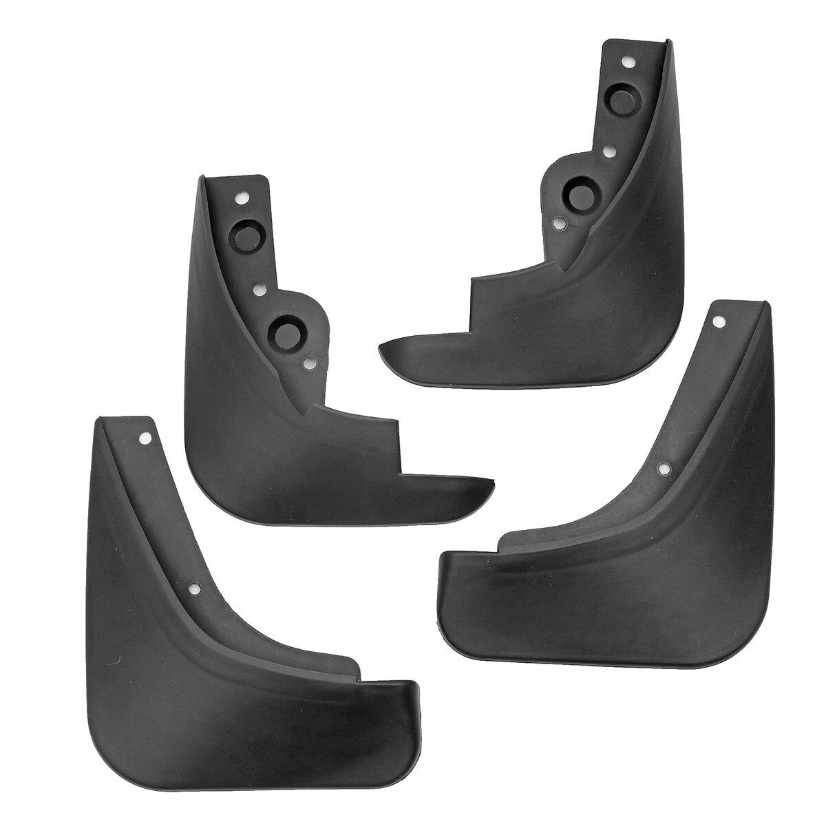 4 stücke Auto vorne und hinten Kotflügel-Kotflügel Splash Flaps Schmutzfänger Für Mazda 3 09-12