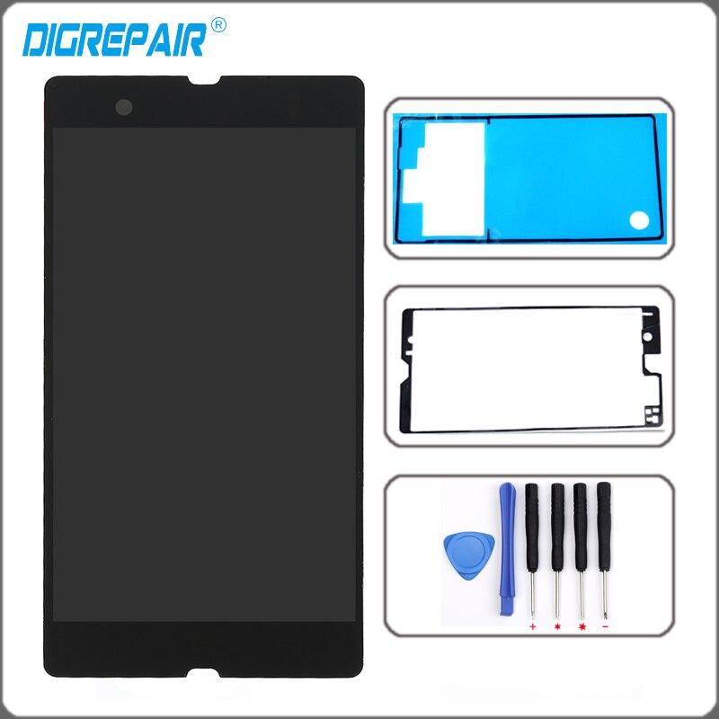imágenes para Pantalla LCD Táctil Digitalizador Asamblea + Herramientas Adhesivas Para Sony Xperia Z L36H L36I C6603 C6602 C6606 Pantalla LCD Libre gratis
