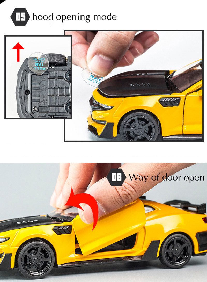 Chevrolet Camaro High Quality Alloy Toy Car 16x6.5x4.6 cm 36
