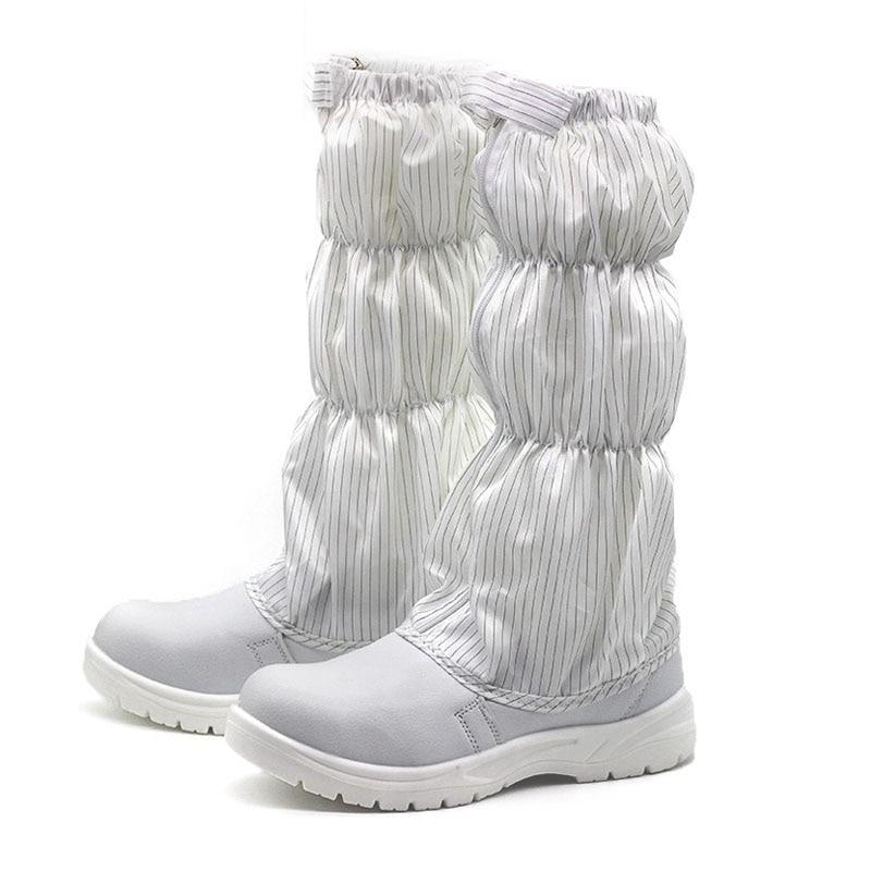Tubo Elétrica branco Anti Botas Anti Purificação Da ácaro Azul Sapatos Segurança Alta Estática Brancos De estático free Poeira Longas tYxpZwqfU