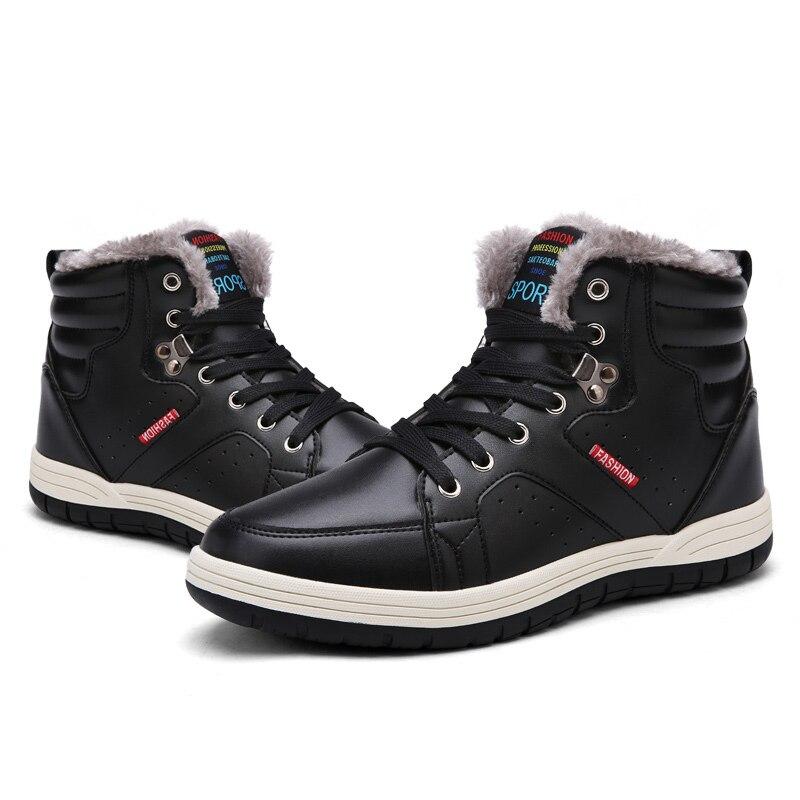 14f0669ee9f6e De Grande Neige Chaussures Mode Brown Travail Chaud Casual 39 Cheville  Taille black Hommes Mivnskve Boot D hiver Bottes Au blue Peluche Garder ...