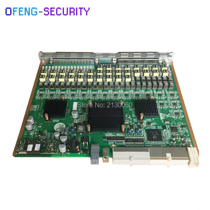 100% Original Huawei VCLE 32 Ports VDSL2 Service Board Built-in Splitter For MA5616 MA5818 OLT ASRB ASPB ADLE VCLE ADPE EIUA