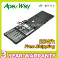 Apexway 15.2V 53Wh Laptop Battery AP13B3K AP13B8K for Acer Aspire V5 R7 V5-572G R7-571 V7-481 V5-472 M5-583P V5-572P V7-58