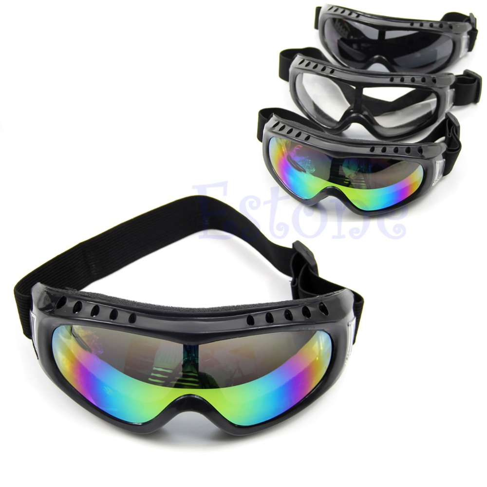 Brave Hot Motorcycle Dustproof Ski Snowboard Sunglasses Goggles Lens Frame Eye Glasses Lustrous