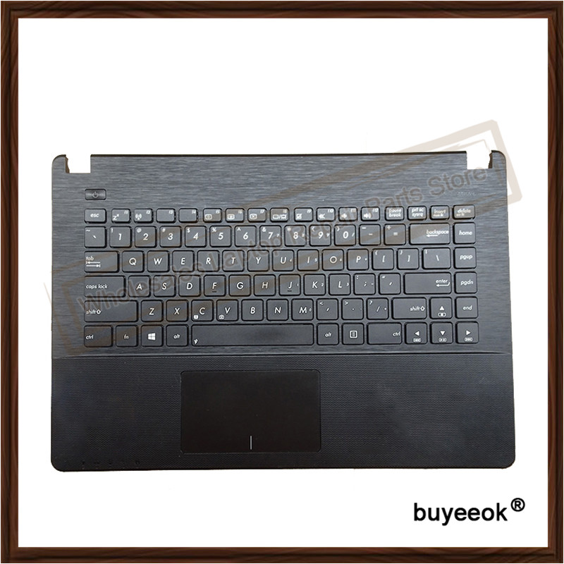 Original Topcase US Keyboard For ASUS Y481C X450V K450C A450C X450C W418L X450 With Touchpad vogue japan misaki kurehito native creator s collection cat lap milk sexy pvc figure toys new in box