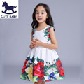 All children's clothes and accessories Printing Dress for girls princess dress cotton dresses vestidos children's clothes 6-7-8Y