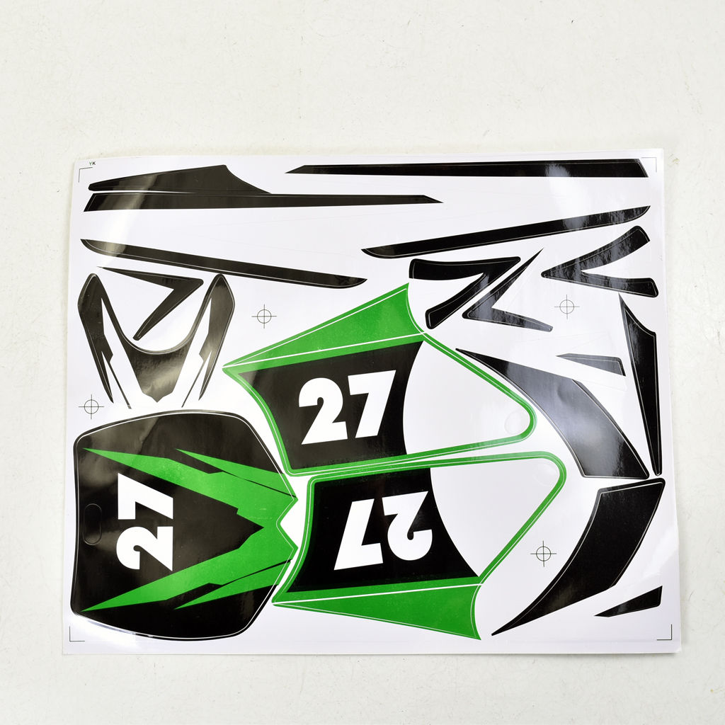 Graphic decal sticker decals for small apollo mini moto kids e bike dirt bike 2 stroke 47cc 49cc 50cc 70cc in covers ornamental mouldings from