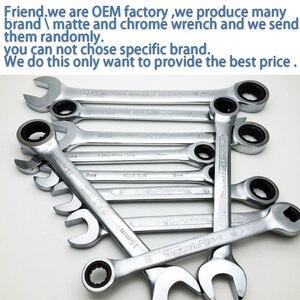 Image 5 - Ratchet Combinatie Metric Wrench Set Fijne Tand Gear Ring Koppel En Dopsleutel Set Moer Gereedschappen Voor Reparatie Een Set van Moersleutel