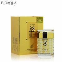 BIOAQUA Brand Silk Protein Face Cream Moisturizing Anti Aging Whitening Cream 60g Shrink Pores Skin Care