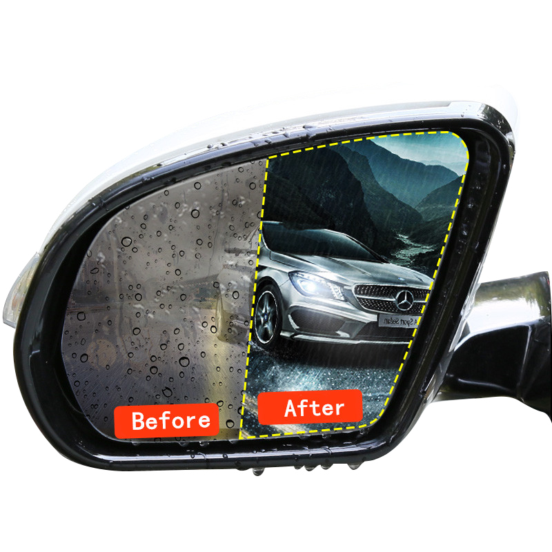 Automobiles & Motorcycles Car Tax Disc Holders 2pcs Car Rearview Mirror Waterproof And Anti-fog Film For Uaz 31512 3153 3159 3162 Simbir 469 Hunter Patriot Auto Accessories Selected Material