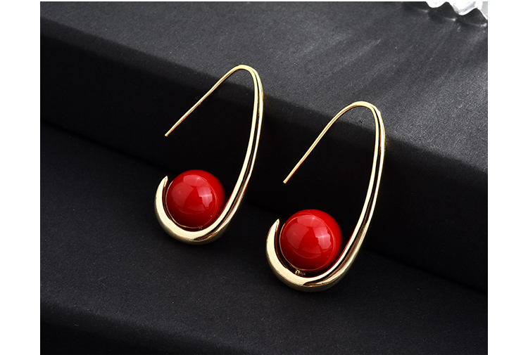 fashion pearl gold stud drop earrings 01 (6)