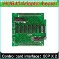 P3 P4 P5 P6 P7.62 P8 P10 полноцветный СВЕТОДИОДНЫЙ экран контроллера, Получение карты HUB40 доска