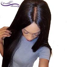 4*4 Straight Silk Base Lace Front Human Hair Wigs Brazilian Remy Hair Silk Top Lace Front Wigs With Baby Hair Dream Beauty(China)