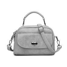 High Quality Numbuck Leather Women Top-Handbag Fashion lock Women Shoulder Bag Shell Stlye Women Bag
