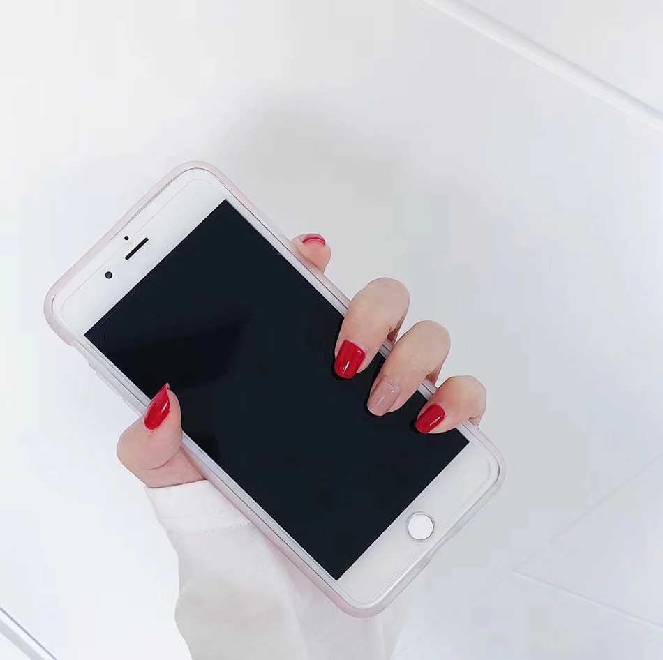 Dla capinha iphone 7 plus przypadku luksusowe brokat telefon coque dla iphone x accesorios iphone 6 6 S 5 5 S 7 plus 8 Plus przypadku