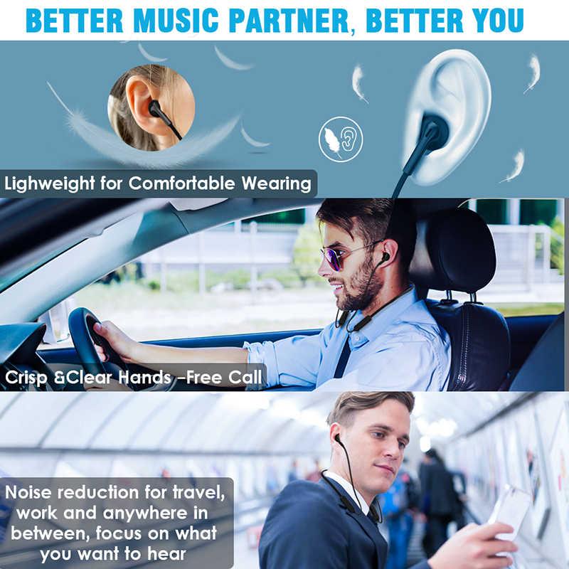 Słuchawki Bluetooth 5.0 bezprzewodowy słuchawki HD słuchawki stereo zestaw słuchawkowy dla aktywnych słuchawki douszne z mikrofonem fone de ouvido auriculares