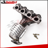 New Catalytic Converter With Exhaust Manifold For 96 2000 Honda Civic 1 6L Front
