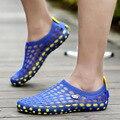 2016 Summer Hot Sale Men Garden Sandals Shoes Clogs For Men Hollow Breathable Men's Clog Clogs Beach Slippers Slipper