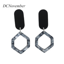 Fashion Women irregular  Drop Earrings Dangle for Lady Vintage Jewelry Party Gift