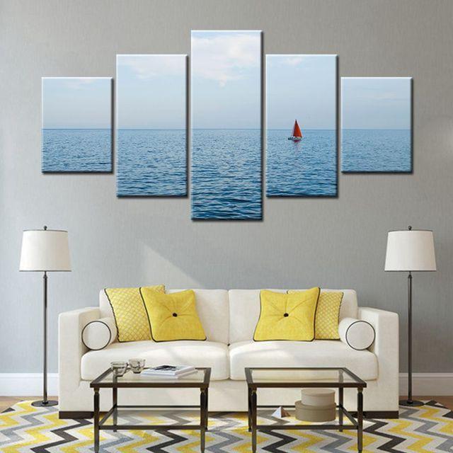 Impress es hd quadro sala de estar pintura da lona arte da for Sala de estar pintura