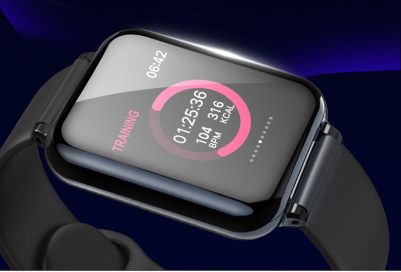 VERYFiTEK AW4 Smart Watch Fitness Bracelet Watch Blood Pressure Oxygen Heart Rate Monitor IP67 Men Women Sport Smartwatch (6)