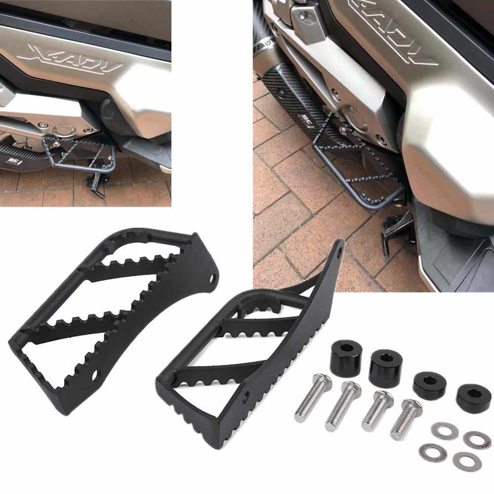 Pedane per moto Pedane per pedane Pedane passeggero posteriori Kit pedale per HONDA X-ADV 750 17-19 Colore : Black Red